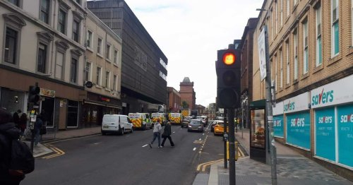 Man found dead on Hope Street in Glasgow city centre