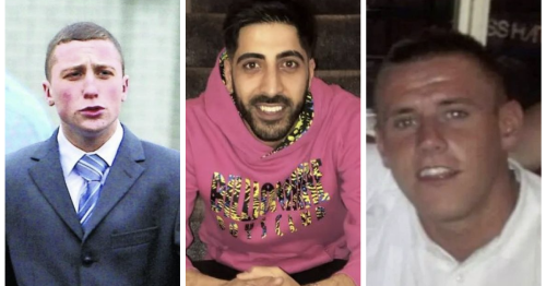 First pictures of three men tragically killed in horror crash on M8 motorway