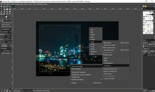 Glimpse: A Free Cross-Platform Photo Editor