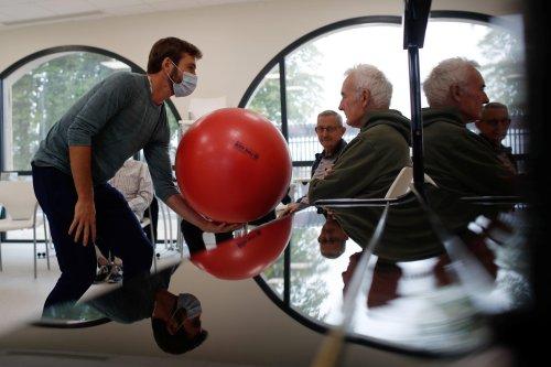 French 'Alzheimer's village': where nursing home meets the outside world