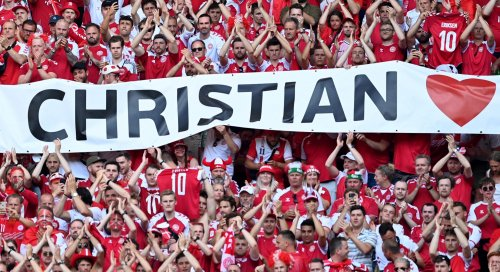 'For Christian' – Danish fans prepare for final group-match push