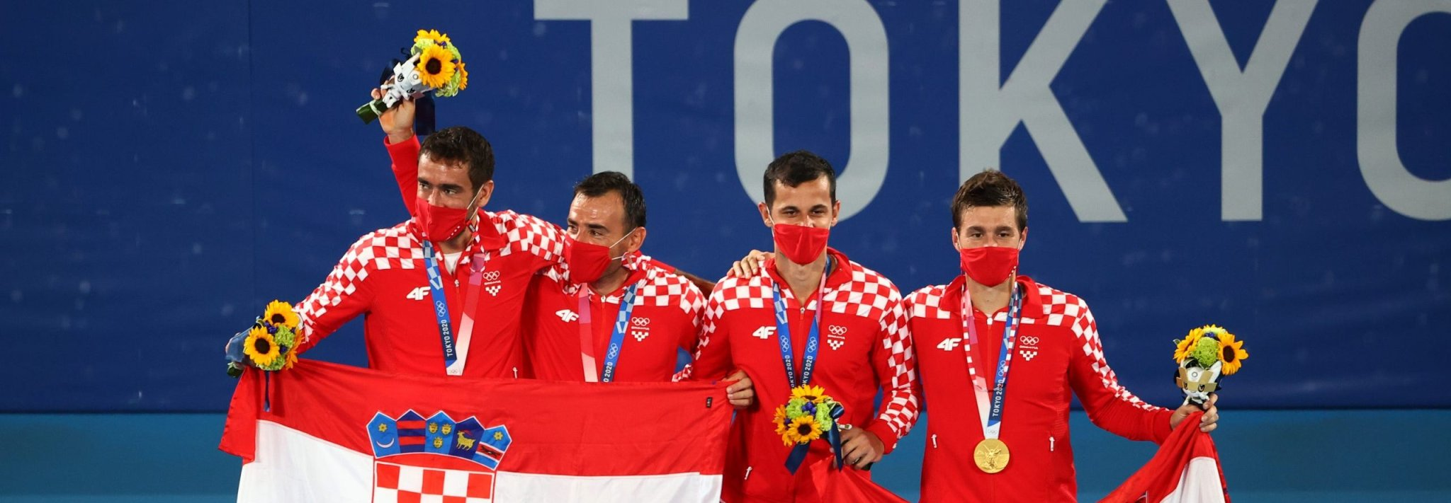 Olympics-Tennis-Mektic and Pavic win first tennis gold for Croatia