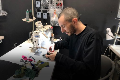 Scrap by scrap, New York designer creates fashion from waste | GLOBAL HEROES MAGAZINE