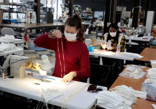 'Laser-focused' on surgical masks, U.S. textile firms pivot in coronavirus pandemic | GLOBAL HEROES MAGAZINE