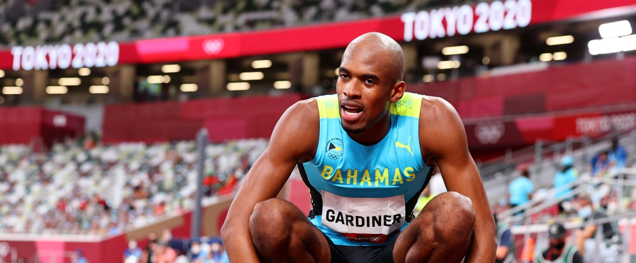 Olympics-Athletics-Gardiner takes 400m gold on a night of firsts