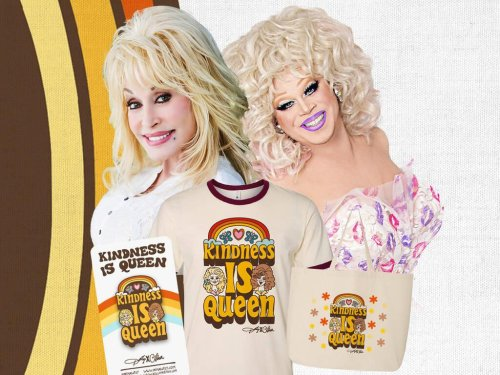Dolly Parton collaborates with Drag Race star Nina West on a capsule collection | GLOBAL HEROES MAGAZINE