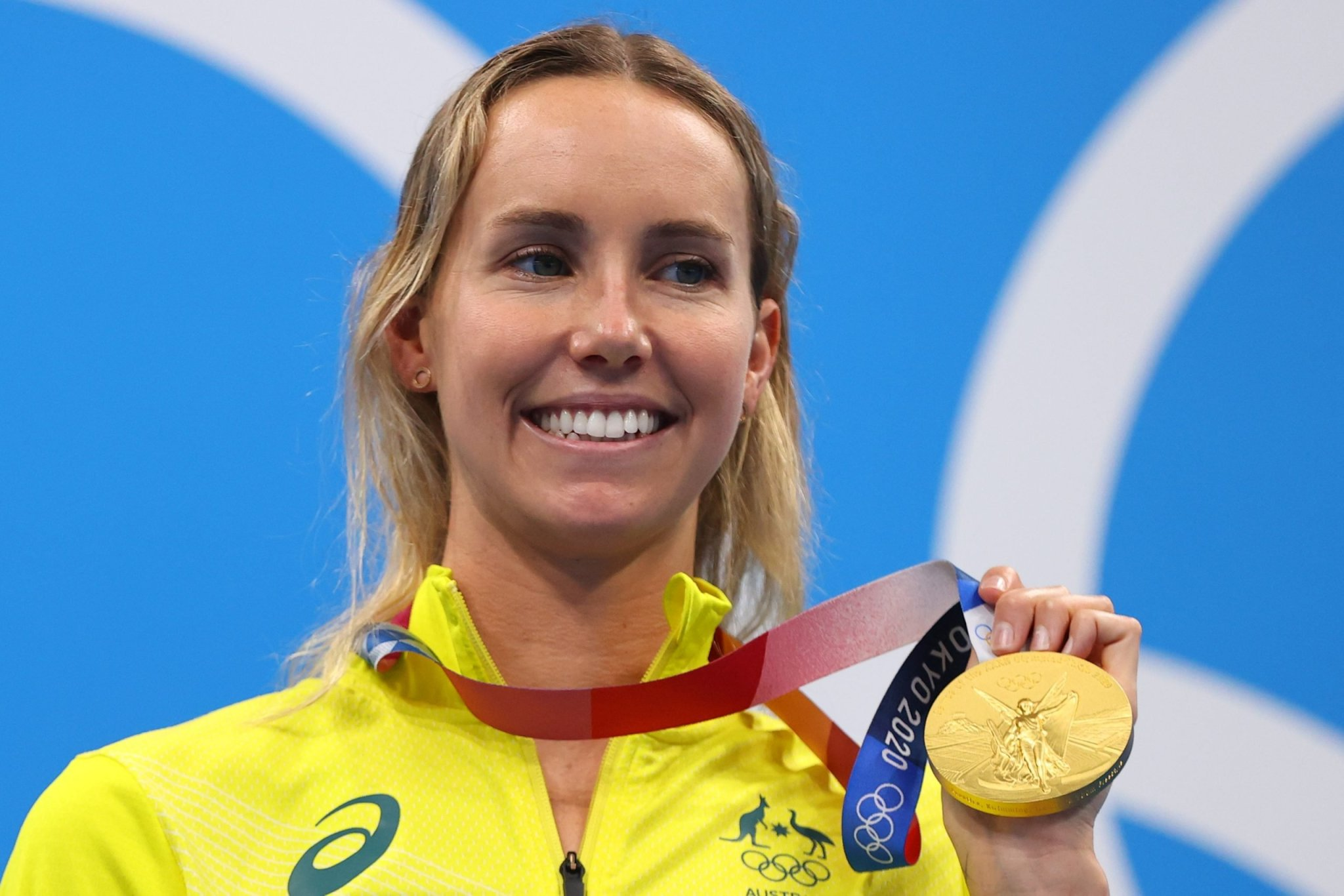 Olympics-Swimming-McKeon over the moon after winning first individual gold