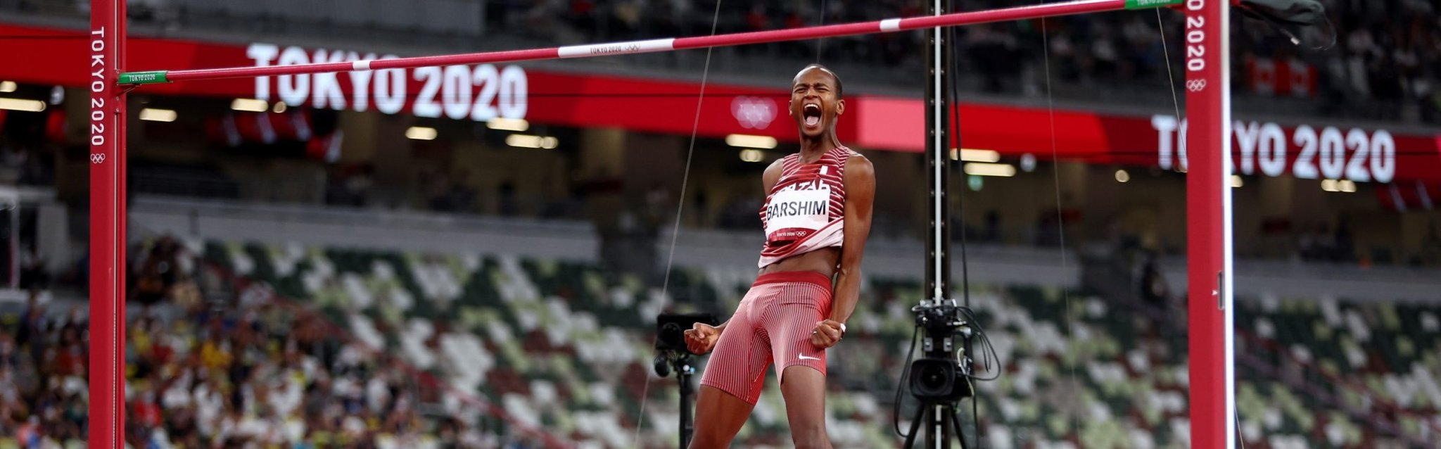 Olympics-Athletics-'Can we have two golds?' – Barshim, Tamberi share high jump win