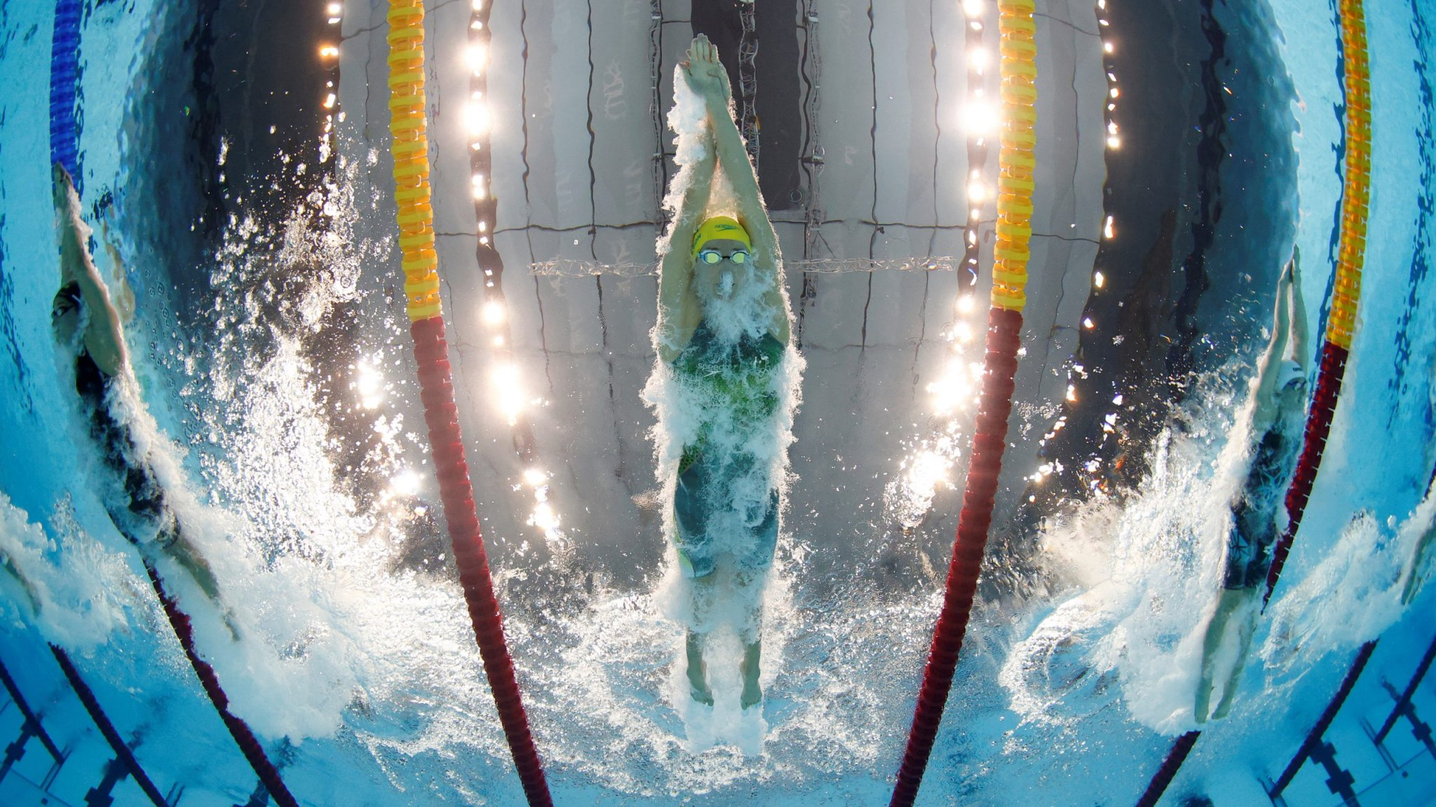 Olympics-Swimming-McKeon smashes Olympic women's 100m freestyle record in heat