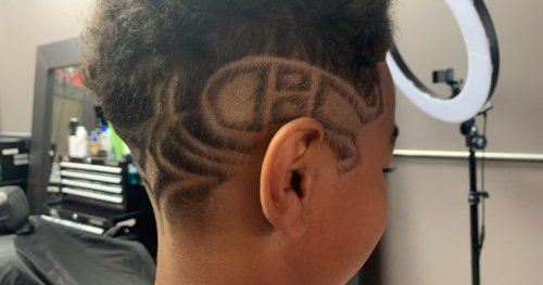 Pierrefonds Habs fan buzzing with excitement for Canadiens' third round gets lucky haircut