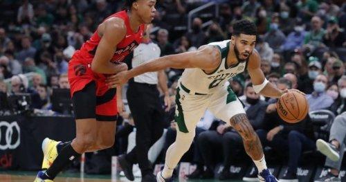 Raptors beat Celtics 115-83, spoil home opener | Globalnews.ca