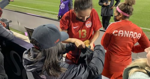 Canada's women's national soccer team lifts hearts with 1-0 Montreal win on Celebration Tour - Montreal | Globalnews.ca