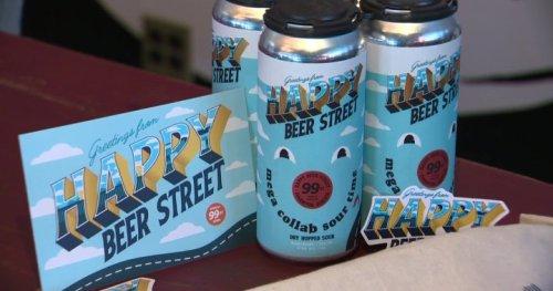 'Happy Beer Street' toasts Edmonton craft brewery district on 99 Street - Edmonton | Globalnews.ca