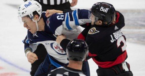 Scrappy Sens end Winnipeg Jets three-game win streak
