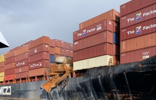 Coast guard now believes 106 containers fell from MV Zim Kingston cargo ship | Globalnews.ca