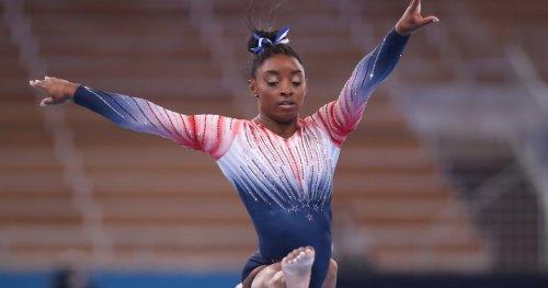 Simone Biles wins bronze in Olympic balance beam | Globalnews.ca