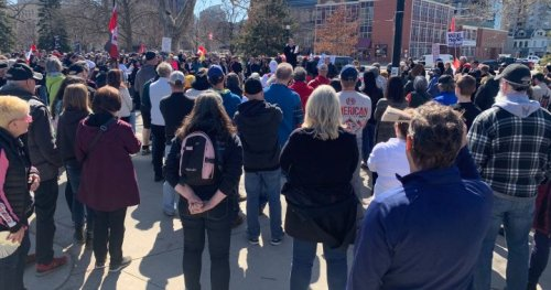 COVID-19: Aylmer man, woman charged in March 'freedom' rally in London, Ont.