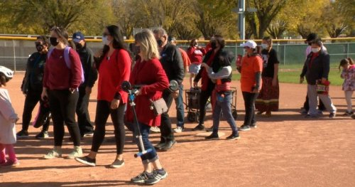 Awareness walk hosted to recognize 1 year since Megan Gallagher's disappearance - Saskatoon | Globalnews.ca