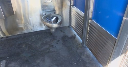 Vernon, B.C. reduces hours of public toilets after fire causes $25 in damages