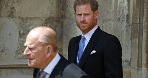 Prince Harry returns to the U.K. alone for Prince Philip's funeral