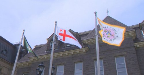 First Nations flags raised at N.B. Legislature for National Indigenous Peoples Day