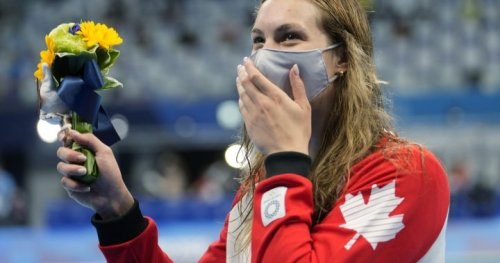 Penny Oleksiak misses out on record 7th Olympic medal in 100-metre freestyle in Tokyo - National   Globalnews.ca
