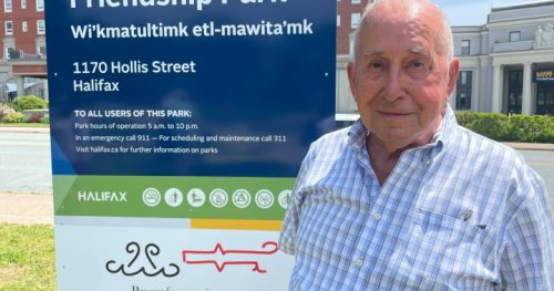 Mi'kmaw elder helps unveil new Halifax park name after three decades of advocacy