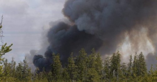Wildfire still uncontained in RM of Piney as unfavourable conditions continue