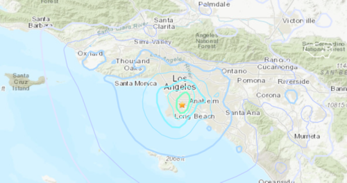 No reports of damage, injuries after earthquake strikes Los Angeles area - National | Globalnews.ca