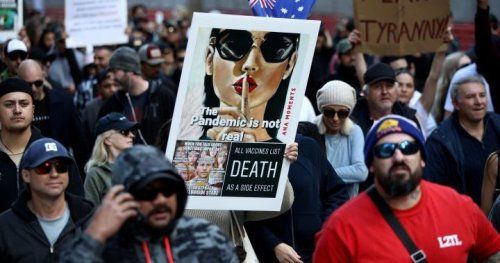 'Freedom': Thousands protest in Australia against COVID-19 lockdown, vaccines - National   Globalnews.ca