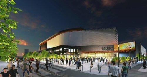 Calgary Event Centre renderings show plaza, 'ribbon' design - Calgary | Globalnews.ca