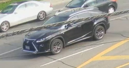Toronto police release suspect vehicle image from weekend plaza parking lot shooting - Toronto | Globalnews.ca
