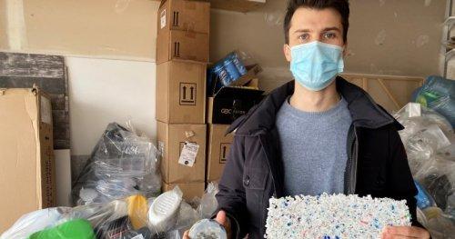 Small business gives plastic new purpose inside Edmonton garage