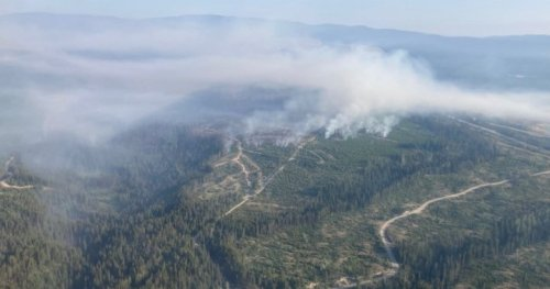 Smoky skies preventing some wildfires from being accurately sized, says BC Wildfire - Okanagan | Globalnews.ca