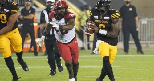 3rd-string QB David Watford, Tiger Cats down Stampeders 23-17 - Calgary | Globalnews.ca