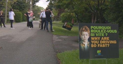 West Island communities struggling to pump the brakes on speeding - Montreal | Globalnews.ca