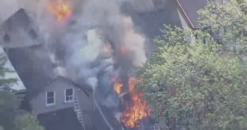 Firefighters responding to massive fire at downtown Toronto home