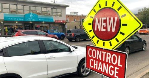 Traffic delays in Old Strathcona as Edmonton unveils new pedestrian scramble crossings - Edmonton | Globalnews.ca