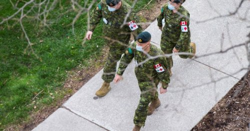 Military set to arrive in Manitoba Friday to provide COVID-19 help