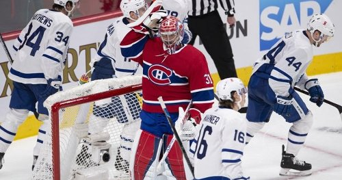 Leafs beat Habs 2-1 to take 2-1 lead in series