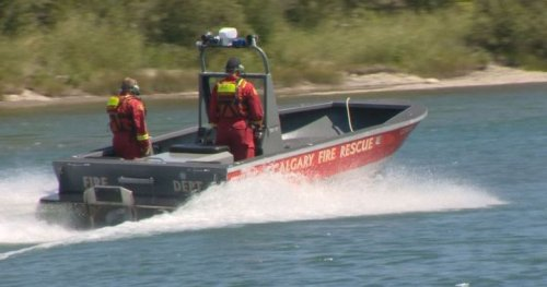 Man in critical condition after being rescued from Calgary's Bow River: EMS