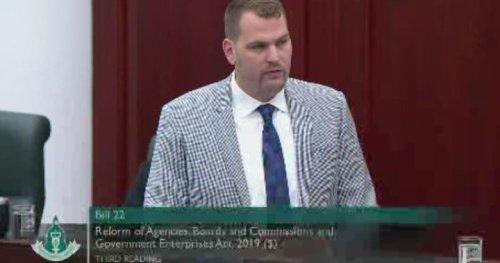 UCP raises MLA, Deputy Government House Leader Joseph Schow's salary by $12K   Globalnews.ca