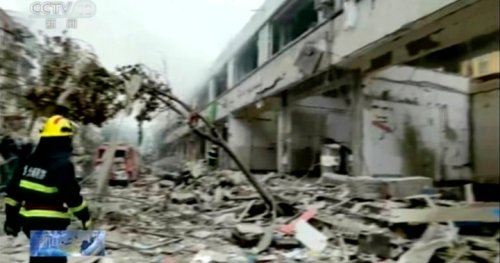Death toll from China gas explosion climbs to 25 as investigation begins into cause