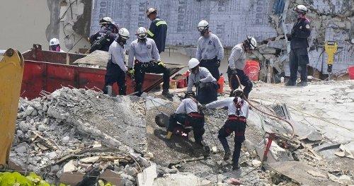 'Excruciating' search through wreckage of Florida condo collapse enters 6th day
