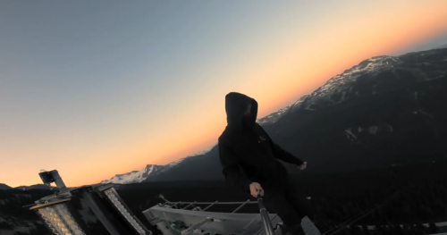 'Extremely dangerous': Toronto man films himself climbing Whistler Peak-2-Peak Gondola   Globalnews.ca
