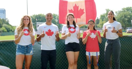 London Olympians get long overdue applause during local celebration - London | Globalnews.ca