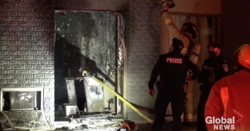 Peterborough man charged with arson following early morning fire at Quality Inn hotel room