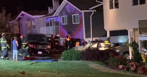 1 seriously injured after collision sends car into Port Moody home | Globalnews.ca