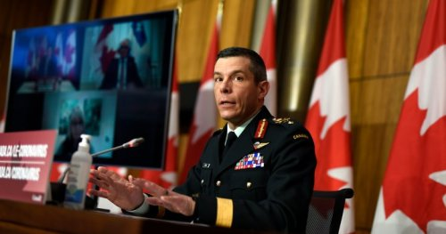 Military head of Canada's vaccine rollout steps aside amid investigation