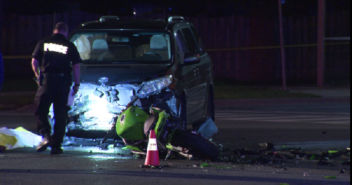 Motorcyclist dead after collision with van in Markham - Toronto | Globalnews.ca